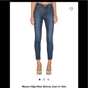 Mason High-Rise Skinny Jeans Size 24